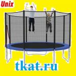 Батут с сеткой и лестницей Unix 6 ft (диаметр 1 м 83 см)