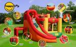 Детский надувной Игровой центр 11 в 1 HAPPY HOP 9206